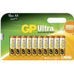 Batteri Alkaline AA/LR6 10st/fp