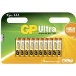 Batteri Alkaline AAA/LR03 10st/fp