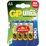 Batteri Ultra Plus Alkaline AA/LR6 4st/fp