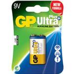Batteri Ultra Plus Alkaline E/9V/6LF22 1st/fp