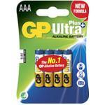 Batteri Ultra Plus Alkaline AAA/LR03 4st/fp