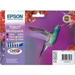 Epson T0807 Multipack Ink Cartridges