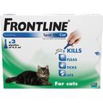 Frontline Flea Spot On Cat 0.5ml x 3 pipettes