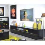 Sciae Floyd 38 TV Hifi Unit In Black