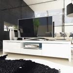 Evoque LED High Gloss White TV Unit