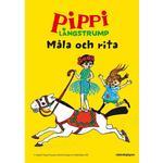 Pippi Långstrump Jubileums-målarbok