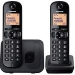 2 - Trådlös Fast Telefoni Panasonic KX-TGC212 Twin