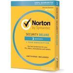 Norton Symantec Norton Security Deluxe - 3 Devices / 1 Year