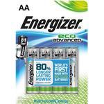 Energizer Batteri Eco Advanced AA/LR6 4-Pack