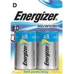 Energizer Batteri Eco Advanced D/LR20 2-Pack