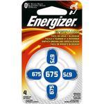 Energizer Hörapparatsbatteri Zinc Air 675 4-Pack