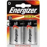 Energizer Max D/LR20 2-Pack