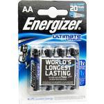 Rubin Medical AB Energizer Ultimate Litiumbatteri 1,5 V (AA) 4 st