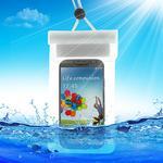 Vattentätt fodral till smartphones, Vit