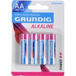 Grundig AA LR6 1.5V 4-pack