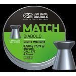 JSB Match Diabolo. Pistol 4.48mm - 0.500g