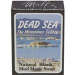Malki Dead Sea Natural Black Mud Mask Soap - 90g