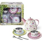 Magni Tea Set Lovebirds in tin 10 pcs 2394