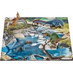 Schleich Minidinosaurier med Vattenhålspussel 42330