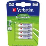 Verbatim AAA Premium Rechargeable 4-pack