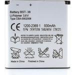 Sony Xperia X10 mini pro - Sony Ericsson Batteri BST-38