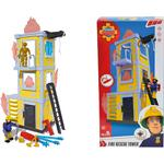 Simba Fireman Sam Fire Rescue Tower