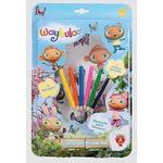 Golden Bear Waybuloo Colour and Sticker Fun