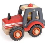 Leklyckan Traktor I Trä
