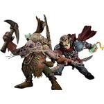 DC Comics World of Warcraft Series 8 Gnome Rogue Brink Spannercrank vs Kobold Miner