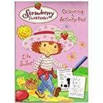 Alligator Books Strawberry Shortcake Activity Pad