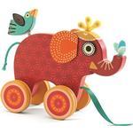 Djeco Dragleksak Elefanten Indy