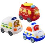 Vtech Toot Toot Drivers 3 Pack Emergency Vehicles