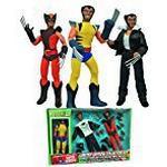 Marvel Comics 8-Inch Wolverine Retro Action Figure Set