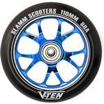 Slamm V-Ten II 110mm Sparkcykel Hjul Komplett (110mm - )