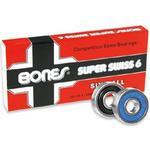 Tillbehör skateboard Tillbehör skateboard Bones Super Swiss 6 8-pack