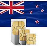 travSIM Neuseeland Prepaid Daten SIM Karte + 2GB für 30 Tage / Standard,Micro & Nano SIM