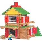 Jeujura Wooden Construction Chalet in a Suitcase 8003