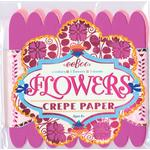eeBoo Crepe Paper Flowers (1 kit, blandade färger)
