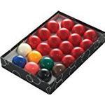 Biljardbollar Biljardbollar Powerglide Snooker Set 52.5mm 22-pack