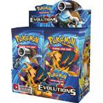Pokémon XY Evolutions Booster Display