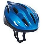 Trespass Kids' Cranky Cycle Safety Helmet - Dark Blue, 44-48 cm