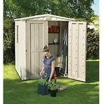 Keter Plastic Factor Shed 6x6