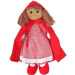 Powell Craft Red Riding Hood Rag Doll 40cm