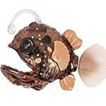 """Goliath 32673 """"Robo Fish Deep Sea Anglerfish"""" Brown Robot Toy"""