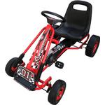 vidaXL Pedal Go Kart with Adjustable Seat