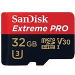 SanDisk Extreme Pro MicroSDHC V30 UHS-I U3 32GB