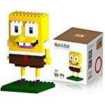 Katara - DIY SpongeBob nanoblocks micro blocks figure - SpongeBob SquarePants construction games for children, age 9+ educational toy, buildable cartoon figure