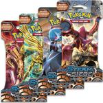 Pokémon XY Steam Siege Training Card Booster 4 Pack