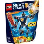 Lego Nexo Knights Clay i Stridsrustning 70362
