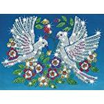 KSG Sequin Art and Beads Doves
